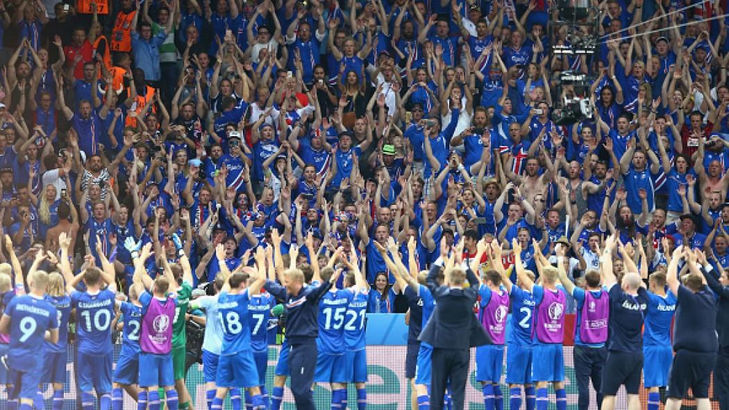 Ισλανδοί!!! Πανηγυρισμός μετά τον θρίαμβο επί των Άγγλων