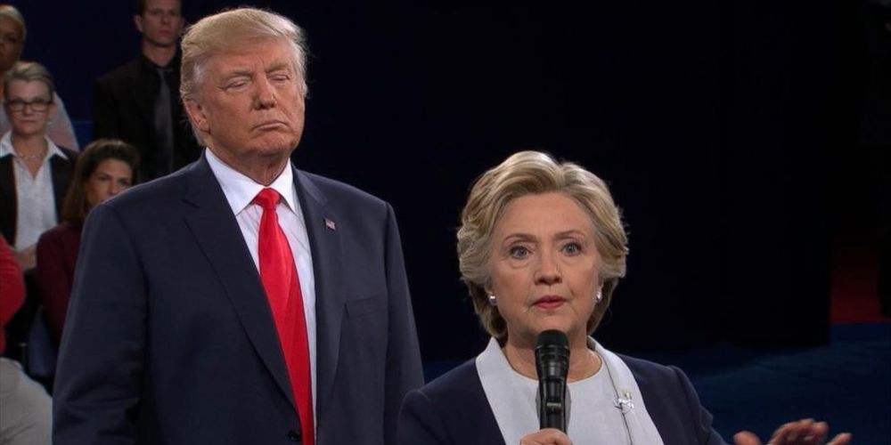 Κλίντον Τραμπ debate